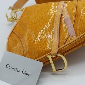 Dior Bags - Christian Dior Vintage Mini Saddle Bag